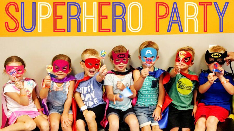 Come organizzare una festa di compleanno per bambini di 11 anni - festa supereroi