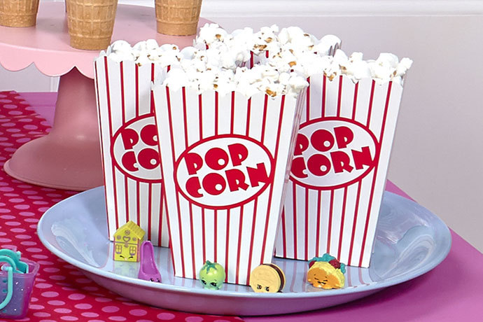 Come organizzare una festa di compleanno per bambini di 11 anni - pop corn