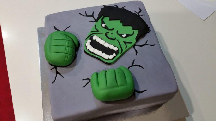 Come organizzare una festa di compleanno per bambini di 11 anni - torta hulk